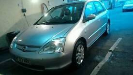 Honda Civic 2003 SE Silver - Leather Seats Sunroof