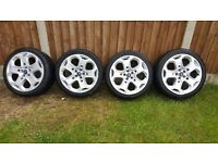 Ford Mondeo 18inch alloys with tryes