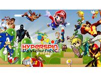5tb Hyperspin Arcade ( 210 x System wheels) 95,000 games
