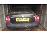 2002/02 Vw passat 1.8T spares or repairs £175