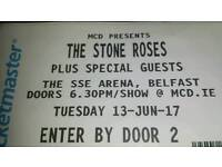 Stone Roses 2 x tickets