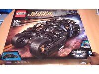 NEW SEALED rare LEGO 76023 BATMAN TUMBLER set UCS DC SUPERHEROES exclusive joker minifigure