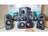 Logitech Z506 Surround Sound Speakers, 5.1