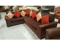 Stunning large corner sofa & chair can deliver 07808222995