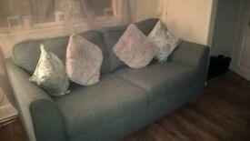 2 Light Blue Sofas Mint Condition