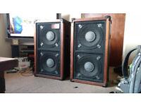 2 CCM speakers 150w