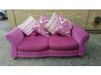 2 seater sofa and cuddler chair