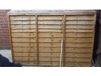 For Sale: 8 x Wickes fence panels 4ft x 6ft