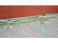 Wood, 3x2, concrete lintel, Free To Collector