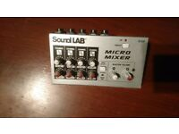 Sound Lab micro mixer