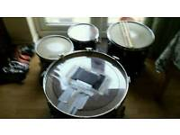 Pearl drum kit+carry case with handle