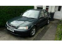 2000 civic 1.4 years mot