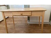 Pine desk great quality