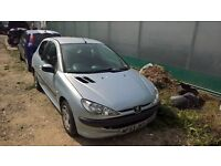 breaking peugeot 206 1.4 diesel all parts available
