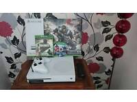 Xbox one s 1tb with 2 games