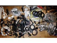 Job lot of loads of cables chargers etc