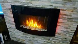 Electirc fire