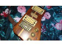 Austin Hatchet guitar by Kay