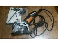 Worx 400W mini circular saw with laser guide (plunge saw)