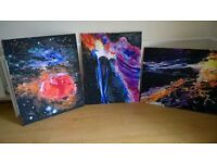 3 canvas painting