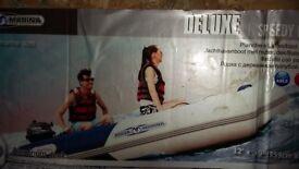 Aqua Marine Infaltable boat 12ft deluxe with Aluminium Floor NEW