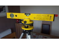 Laser Spirit Level, with tripod and case. £15 - bargain. SR4 area, collection only.