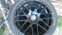 Beautiful just painted 19In BMW M series rims
