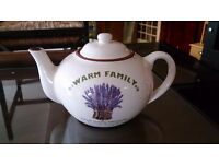 """""""Warm Family"""" Teapot in Good Condition"""