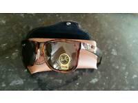 Rayban justin/wayfarer sunglasses. New in box
