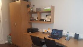 STUDENT EN-SUITE FLAT TO RENT WITH DOUBLE BED - free gym, study room, common room, nr camden