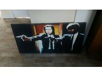 pulp Fiction canvas painting