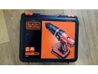 Black and Decker 18v Lithium-Ion hammer drill BRAND NEW