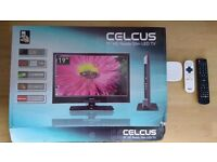 Smart TV- 19'' TV Flat screen with NOWTV box