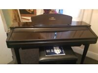 yamaha clavinova digital piano , full size 88 weighted note