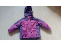 New Childrens Sky Ski Jacket Coat for 3-4 years