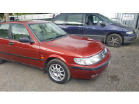 SAAB 9-3 AUTOMATIC. 2.3 LITRE. TINY MILES ONLY 51000! S REG. MOT END OF MAY
