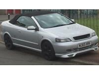 Vauxhall Astra coupe convertible long mot
