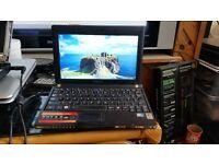 Samsung nc10 windows 7 160g hard drive 2g memory wifi charger webcam