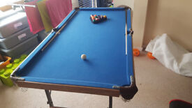 Pool Table 4.5ft x 2.5ft