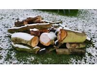 Hard wood timber ideal for a wood burner