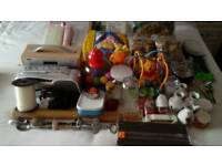 Job Lot of approx 60 assorted Car Boot Sale items.