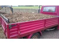Wood/Bark chippings free delivery