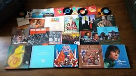 Massive Vinyl Job Lot 50+ Records Box Sets LP's Abba Blondie Cliff Richard Country etc
