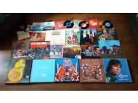 Massive Vinyl Job Lot 50+ Records Box Sets LP's Abba Blondie Cliff Richard Country etc