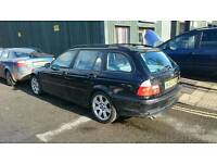 BMW E46 320D FAULTY ENGIN spares or repairs