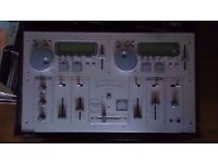 Ministry Of Sound All-In-One Twin CDJ Mixer/Decks Console (with Numark Flight Case)