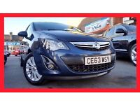 (6,000 Miles) ----- 2014 Vauxhall Corsa 1.4 Automatic ----- Low Mileage ----- half Leather --- Corsa