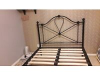 4ft Small double bed frame