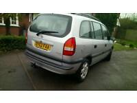 7 SEATER DIESEL LOW MILEAGE 87,000 IMMACULATE CHEAPEST VAUXHALL ZAFIRA BARGAIN CAR QUICK SALE