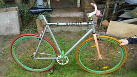 Fixie create bike